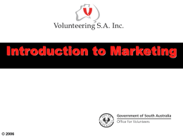 Introduction to Marketing Presentation