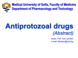 Antiprotozoal drugs_E