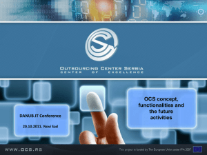 Why OCS company - Outsourcing Center Serbia