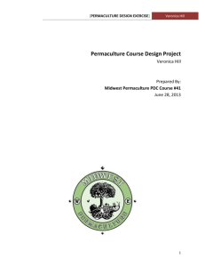 Permaculture Design EXERCise