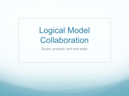 Logical Model Collaboration
