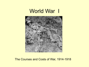 World War I - Adams State University