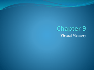 Chapter9 - Virtual Memory(2)