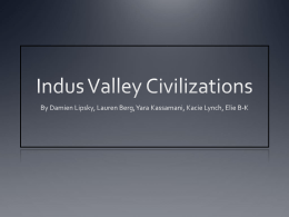 Indus Valley Civilizations