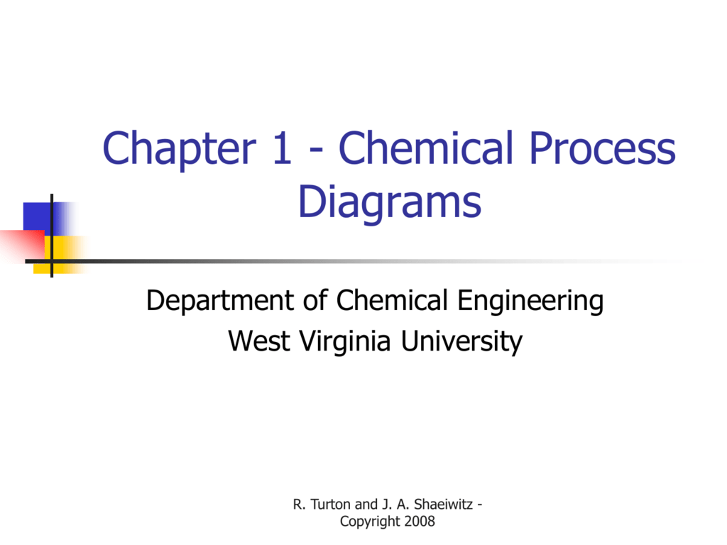 Lecture 2 Structure And Synthesis Of The Process Flow Diagram Schematic Diagramcont