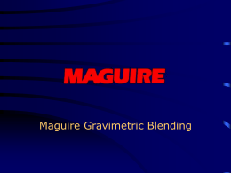 MLAN Software - Maguire Products