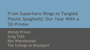 From Superhero Rings to Tangled Plastic Spaghetti: Our