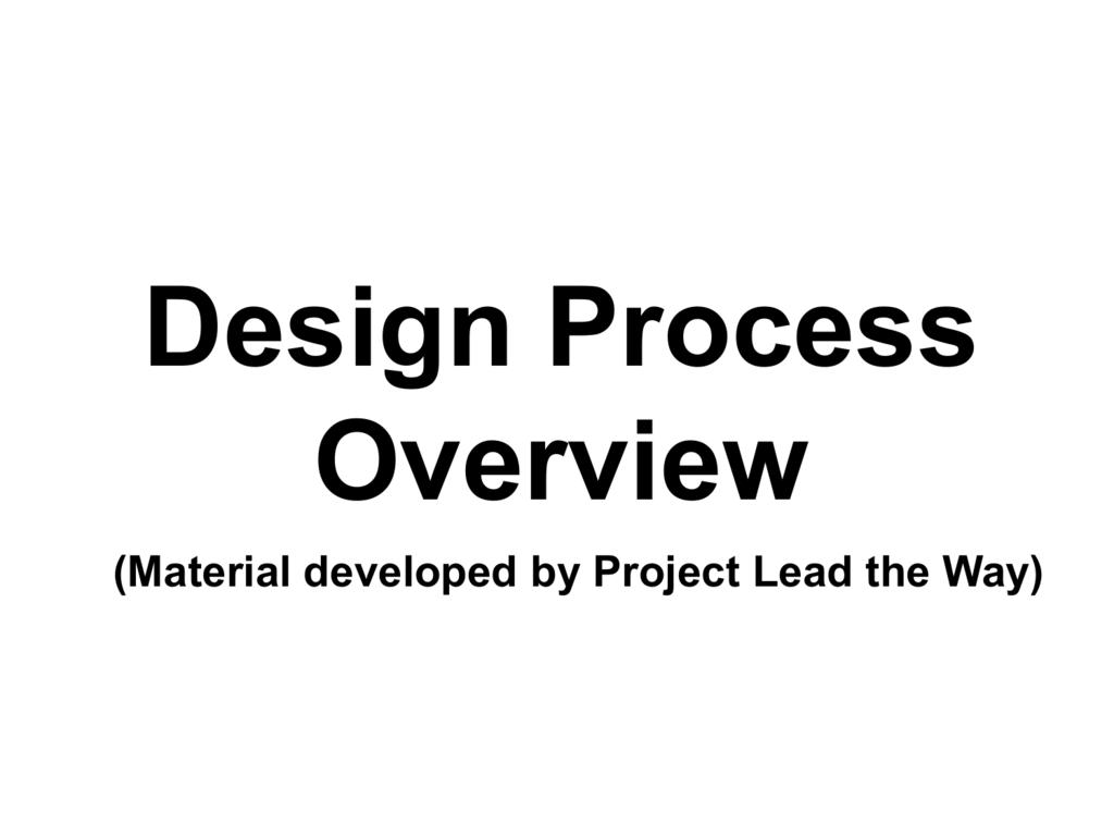 Intro To Engineering Design