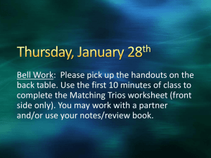 Thursday, January 28th