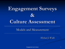 Engagement Surveys & Culture Assessment