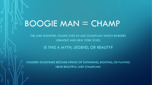 Boogie Man = champ