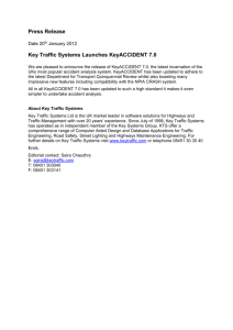 Key Traffic Systems Launches KeyACCIDENT 7.0