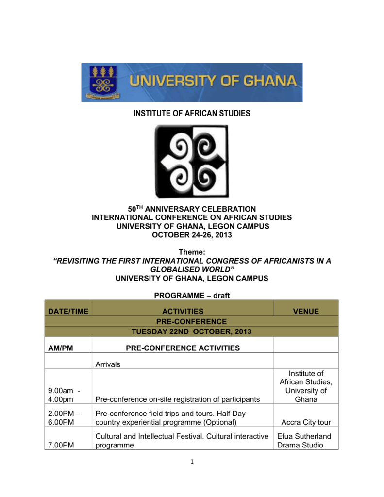 ICAS programme - Makerere Institute of Social Research