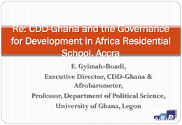 Ghana Centre for Democratic Development