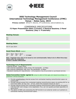 ITMC 2015 Spec - IEEE Technology and Engineering