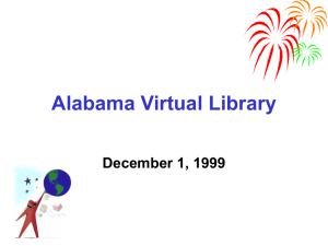 AVL K-12 Overview - The Alabama Virtual Library