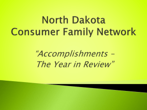 CFN - North Dakota Consumer Family Network