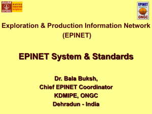 EPINET Project & Standards