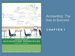 Accounting: The Key to Success