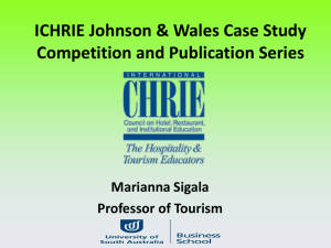 ICHRIE Johnson & Wales Case Study Competition