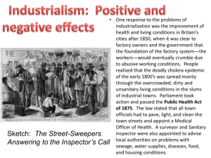 Industrialism: Positive and negative effects