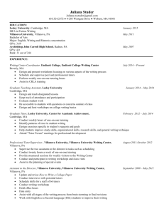 Juliana Studer's Resume