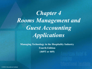 Rooms Management Module Reports
