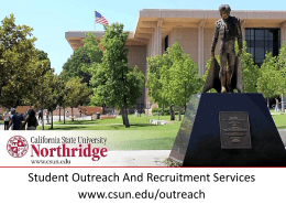 CSUN Admissions/Impaction - The California State University