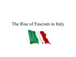 The Rise of Fascism in Italy.ppt