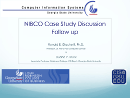 nibco case study discussion