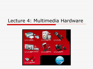 Multimedia Technology and Production D0021