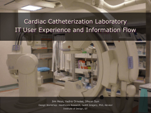 Cardiac Catheterization Laboratory IT and Workflow User Experience