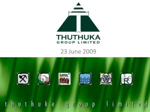 7 - Thuthuka Group Limited