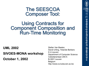 What is a SEESCOA component