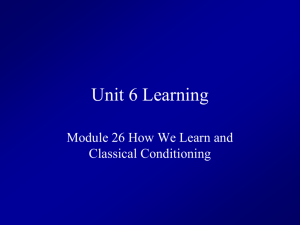 Unit 6 Learning
