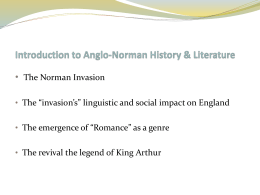 Anglo-Norman Literature
