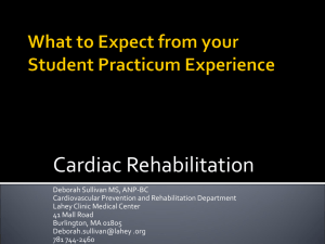 What to Expect from your Student Practicum - 38-412