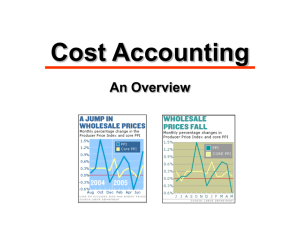7. Cost Accounting