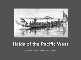 Haida of the Pacific West