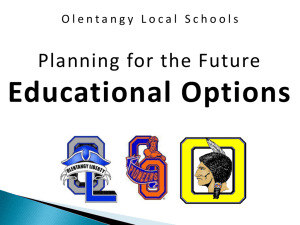 Educational Options 2015