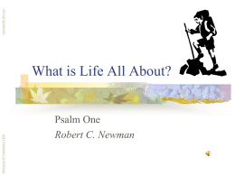 What is Life About? - newmanlib.ibri.org
