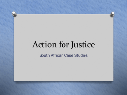 Action for Justice - Padua Academy | Haiku Learning
