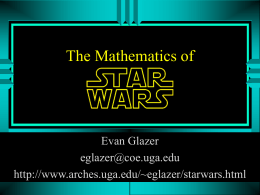 The Mathematics of Star Wars