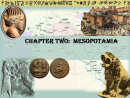Chapter Two: Mesopotamia