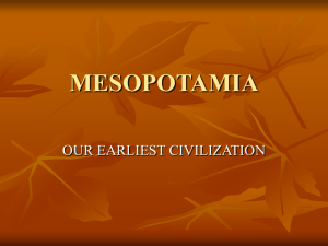 mesopotamia - Tumwater School District