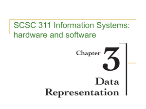 Slides 3 - USC Upstate: Faculty