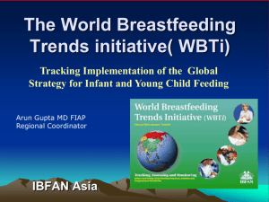 WBTI World Breastfeeding Trends Initiative