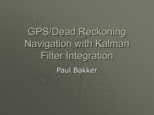 GPS Navigation with Kalman Filter Integration