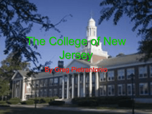 The College of New Jersey - Pennsbury School District
