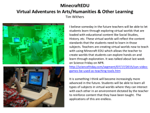 Minecraft Educational